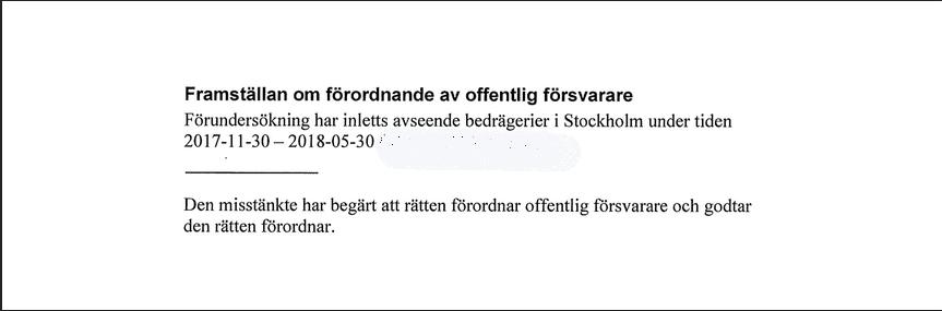 Ex-ledamoten Stefan Jakobsson misstänks för bedrägeri.