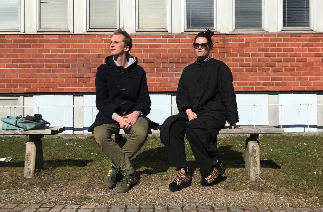 Ola Söderholm och Liv Strömquist.