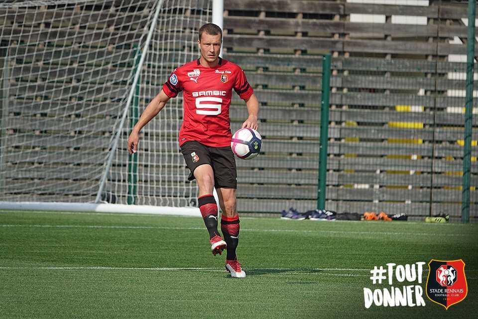 Jakob Johansson tillbaka i träning med nya klubben  Rennes