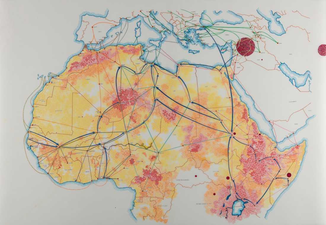 Homeless Souls. Migrationens rutter genom Afrika till Europa
