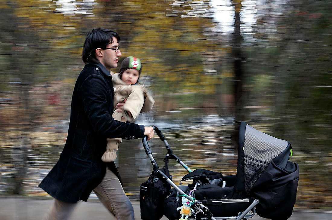 oroliga storstadsbor Medelklassen flyr Alliansen i Stockholm. Väljarna vill se en bättre välfärd.