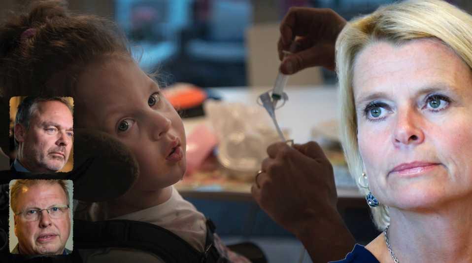 Elvira, 2, föddes med svåra hjärnskador och är blind. Trots det nekades hon personlig assistans av Försäkringskassan. I dag tolkas vissa regler så snålt att det får rent absurda konsekvenser, skriver debattörerna och kräver att regeringen agerar.