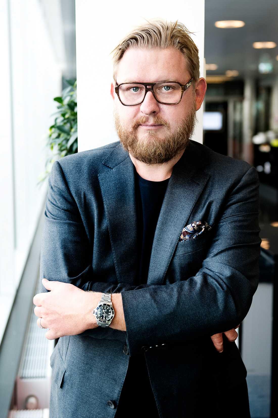 Aftonbladets medarbetare Fredrik Virtanen.