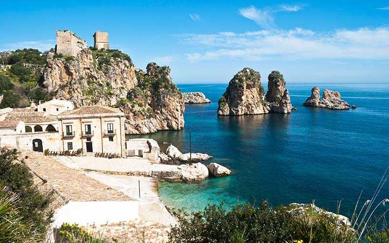 Scopello, Italien