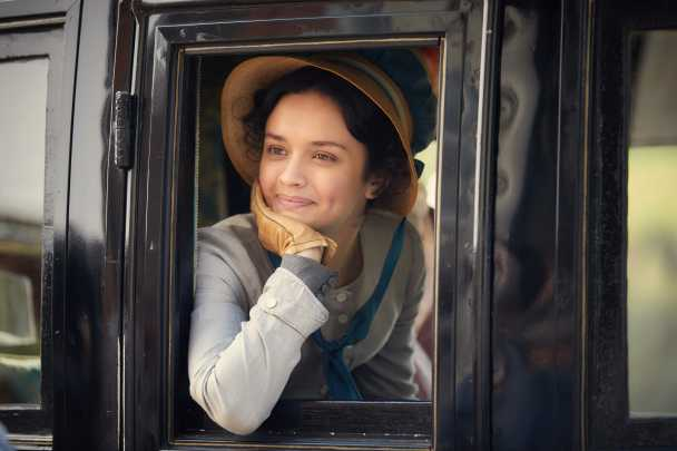 "Olivia Cooke i ""Vanity fair""."