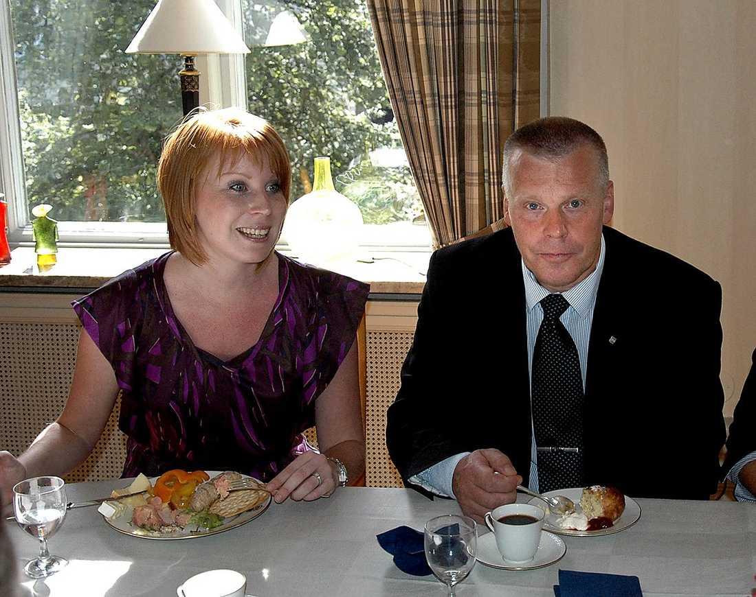 Pappa Hans-Göran Johansson är kommunalråd i Värnamo.
