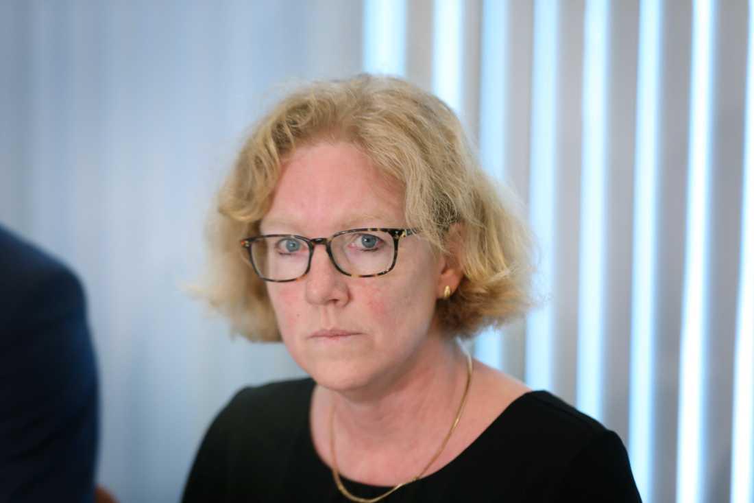 Eva Z Melander, smittskyddsläkare på Skånes Universitetssjukhus.