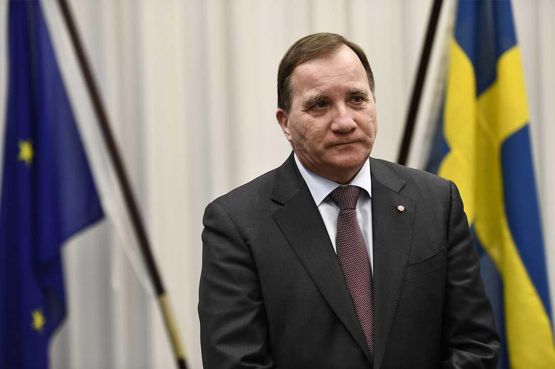 """""""Vi är beredda att göra mer"""", säger Stefan Löfven."""