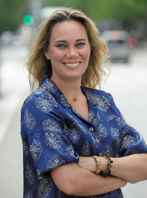 Författaren Gabriella Håkansson var en av kvinnorna som avslöjade Jean-Claude Arnaults övergrepp. Arkivbild.