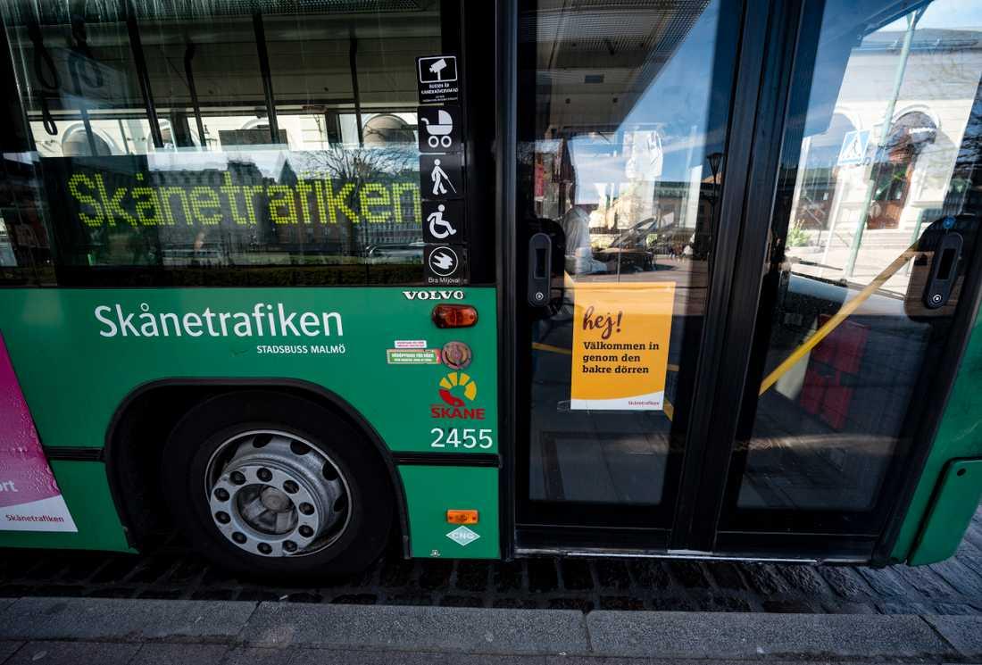 Skånetrafiken fortsätter med de glesare turerna.