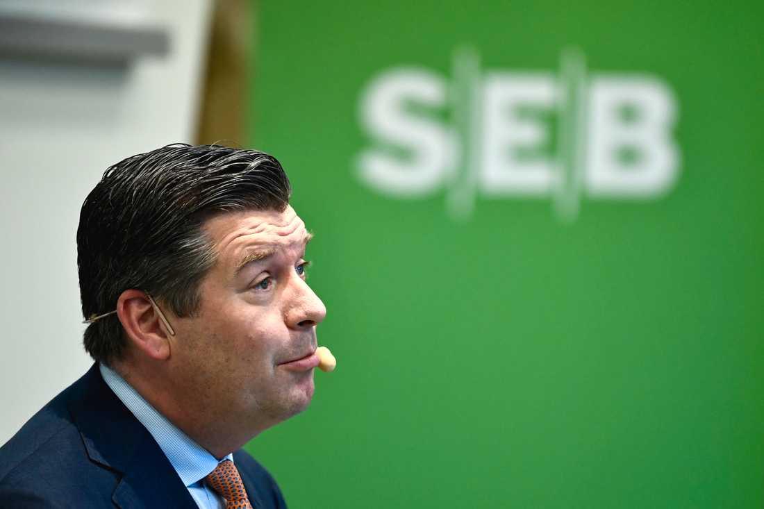 SEB:s vd Johan Torgeby. Arkivbild.