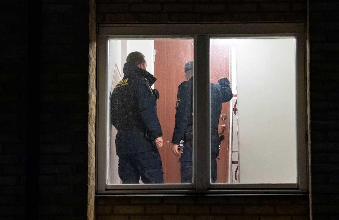 Polisen har för närvarande inga uppgifter om några skadade i skottlossningen eller någon misstänkt.