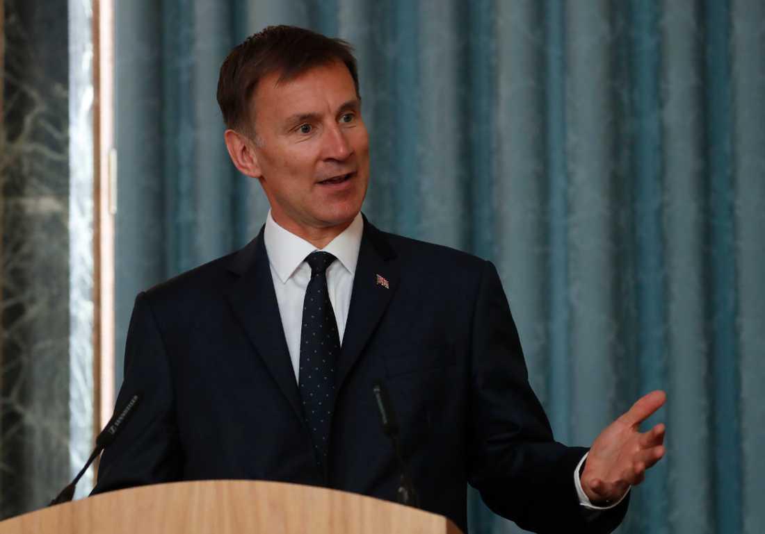 Storbritanniens utrikesminister Jeremy Hunt. Arkivbild.