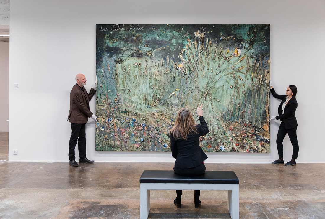 I Norrköping, närmare bestämt i en gammal yllefabrik i industrilandskapet, öppnar Mikael Ståhl den 10 oktober sitt konstmuseum Ståhl Collection, där omkring 150 verk ur hans samling på 450 verk kommer att ställas ut åt gången. Pressbild.