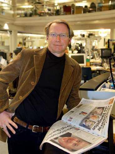 nöjd Redaktionschef Niklas Silow tror att söndagsbilagans satsningar har stor del i Aftonbladets ökning.
