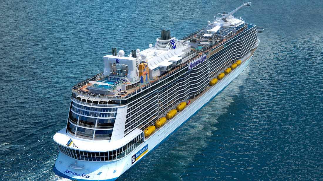 Anthem of the Seas är största nybygget 2015.