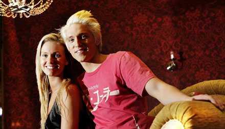 Storfavoriter Danny Saucedo och danspartnern Malin Johansson.