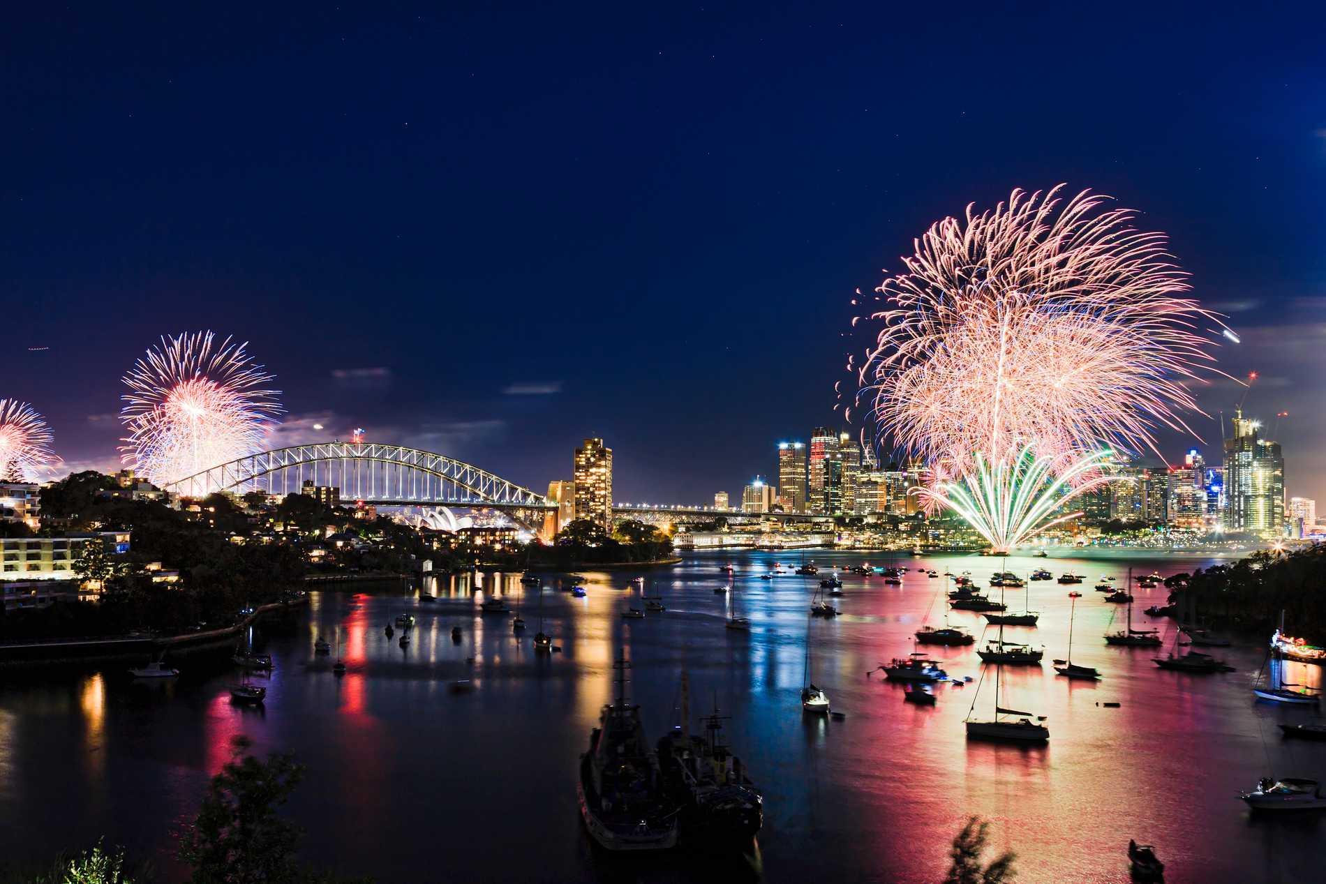 Sydney är en stad som många besöker under nyår.