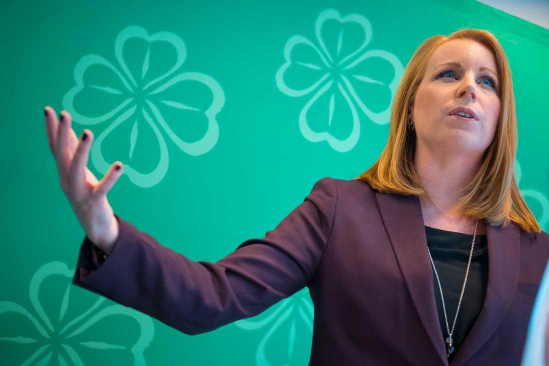 Centerns partiledare Annie Lööf vill slopa ränteavdragen. Arkivbild.