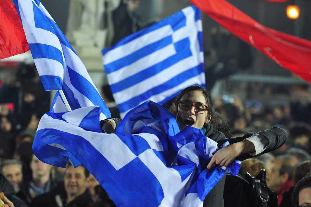 Glädje i Grekland efter Syrizas valseger – men landets framtid är fortsatt osäker.