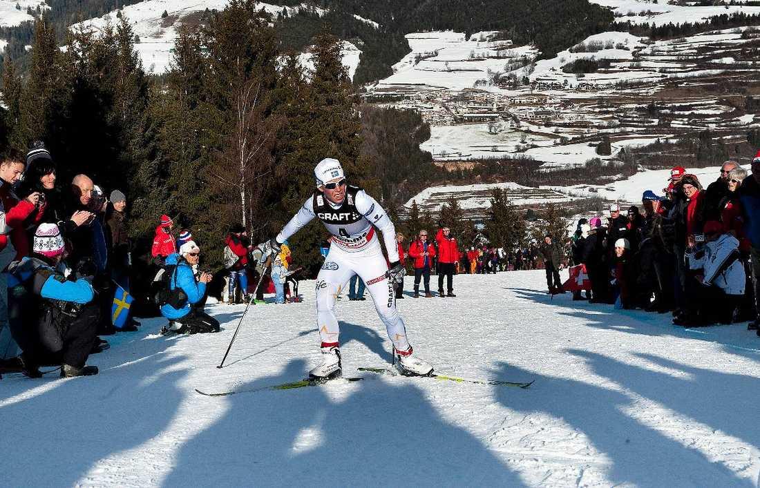 2008 gick Charlotte Kalla förbi Virpi Kuitunen i backen, ett ryck som gjorde att hon vann Tour de ski.