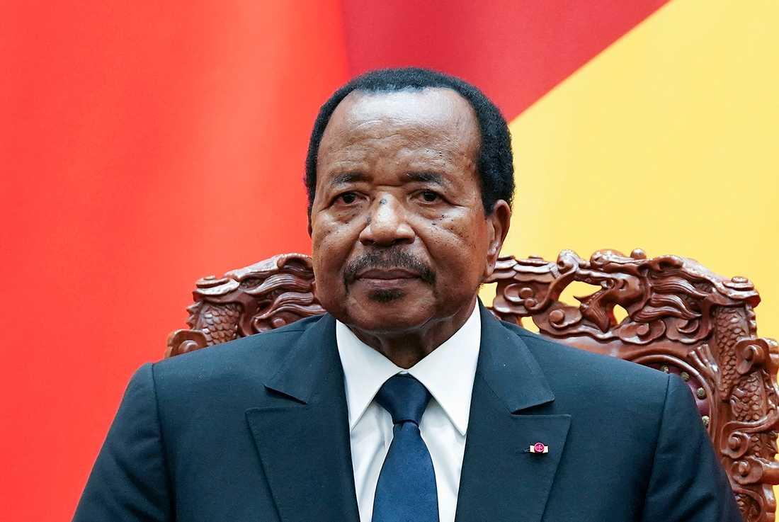 Paul Biyas stödparti RDPC vann som väntat valet i Kamerun. Arkivbild.