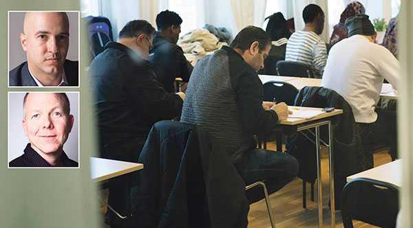 integrationen i Sverige fungerar bra – för de migranter som har de kunskaper som efterfrågas på arbetsmarknaden. Problemet är de lågutbildade, skriver Nima Sanandaji och Johan Winsborn. Personerna på bilden har inte med texten att göra.