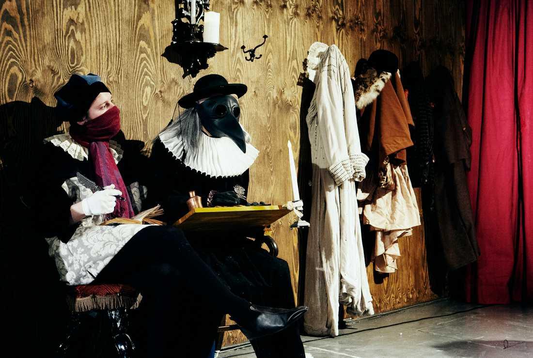 Ensemblen i Bartolomeinatten enligt Christopher Marlowe enligt moment:teater.