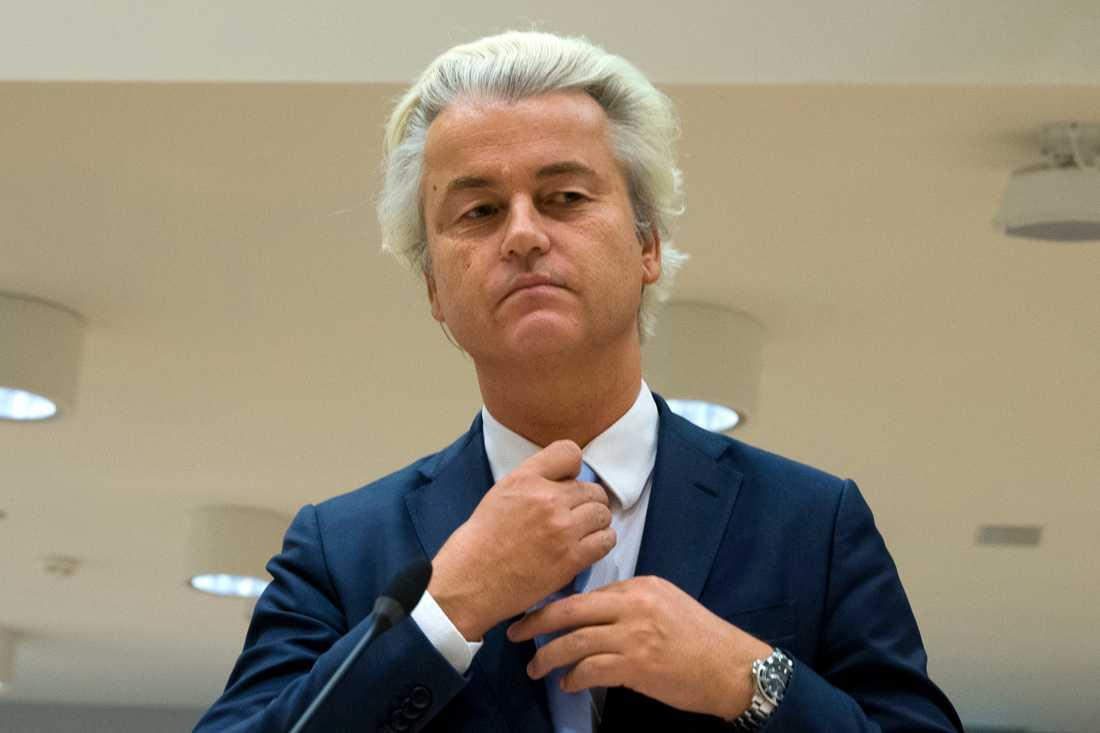 Den nederländske antimuslimske högerpopulisten Geert Wilders hade en gång en nära politisk vän – som nu har konverterat till islam. Arkivbild.