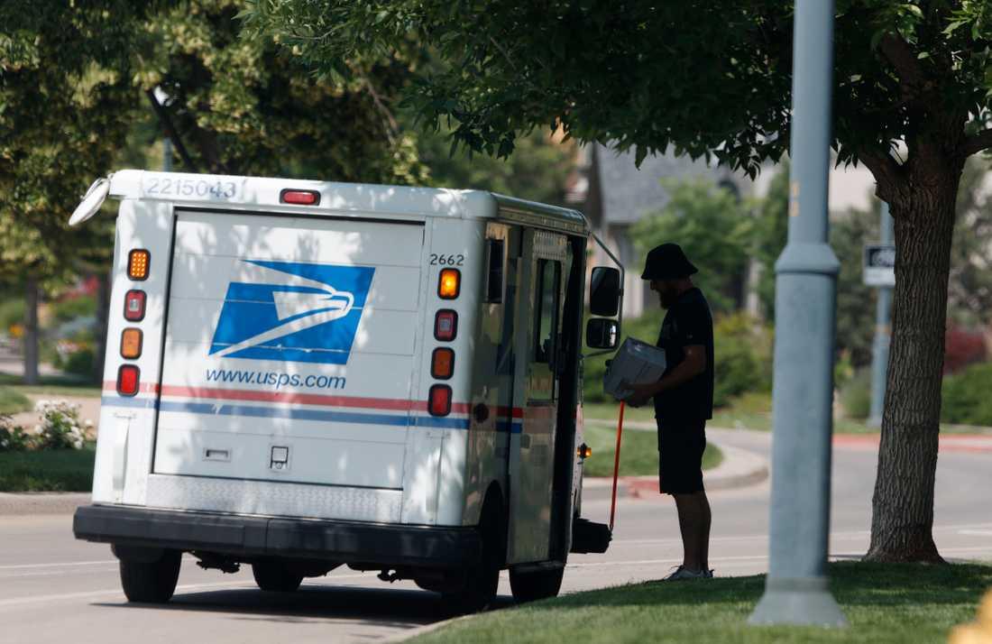 USA:s postverk varnar för att poströstning i novembervalet kan få problem.