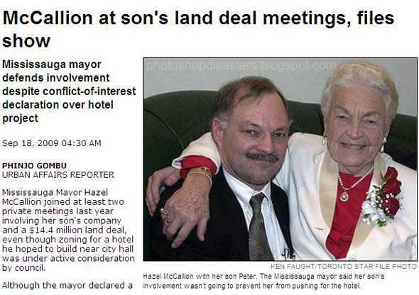 Här är en till politiker. Men hur många händer har hon?