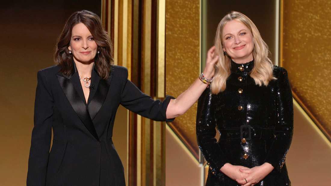 Tina Fey och Amy Poehler leder årets Golden Globe-gala.