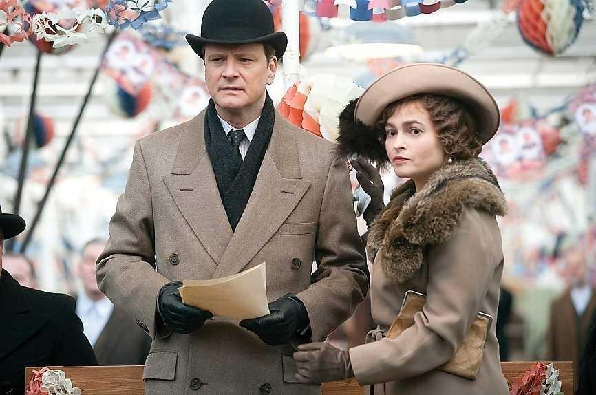 """Colin Firth och Helena Bonham Carter i """"The King's Speech""""."""