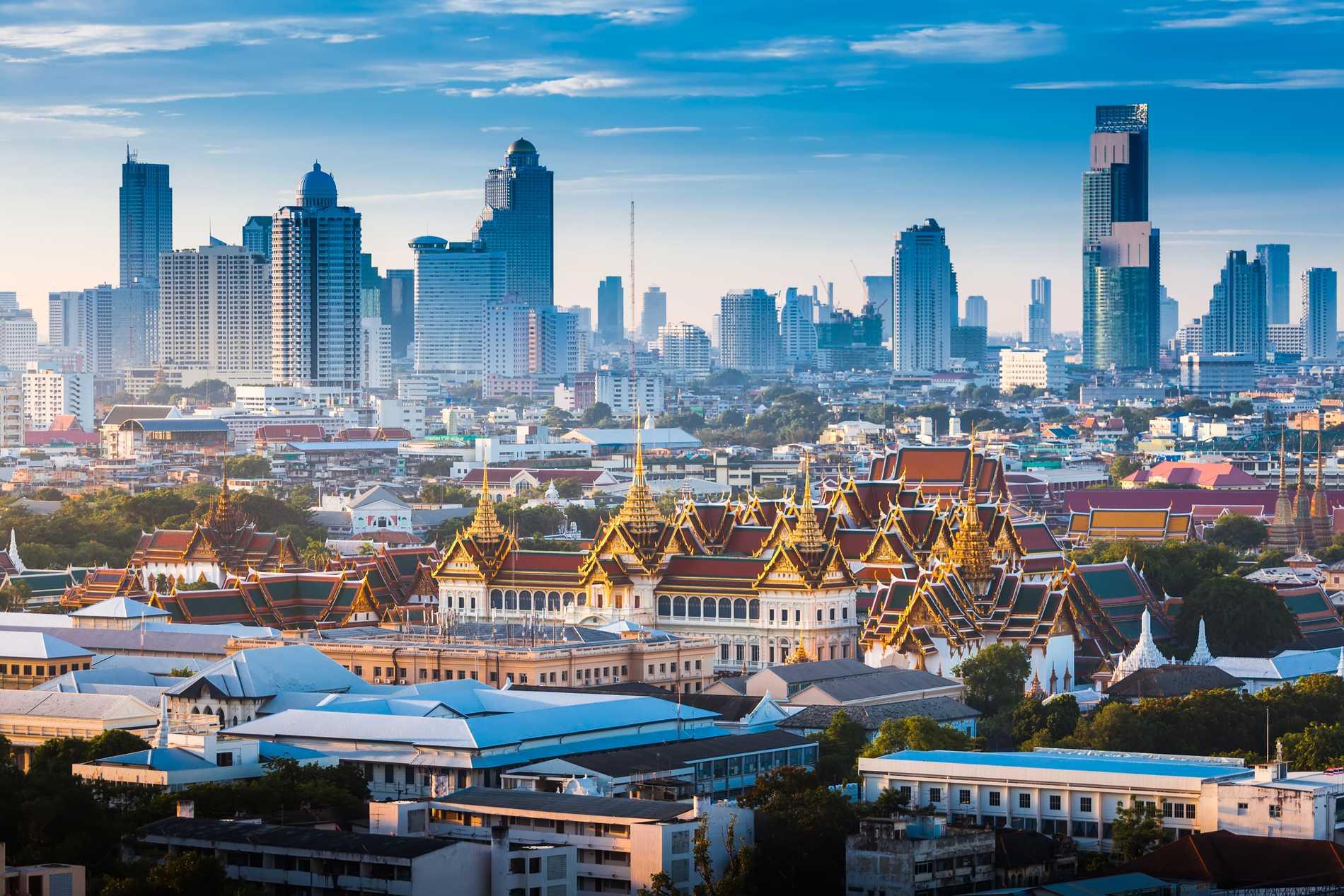 I vår vill många resa till Bangkok.