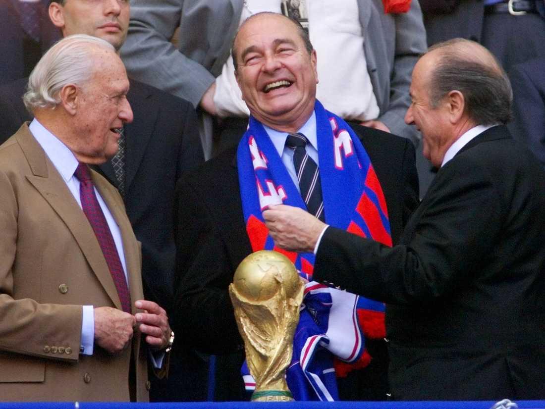Franske presidenten Jacques Chirac.