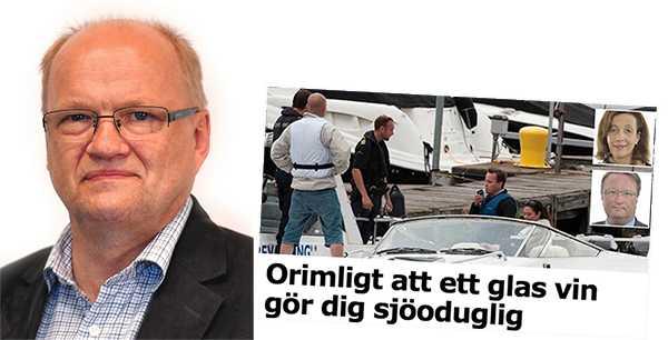 Lars Olov Sjöström, trafiksäkerhetschef MHF: Vi flera gånger har utmålats som lobbyister bakom lagen. Det är inte sant.