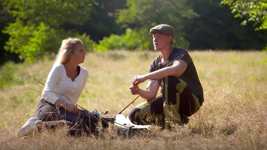 Caroline och Erik.