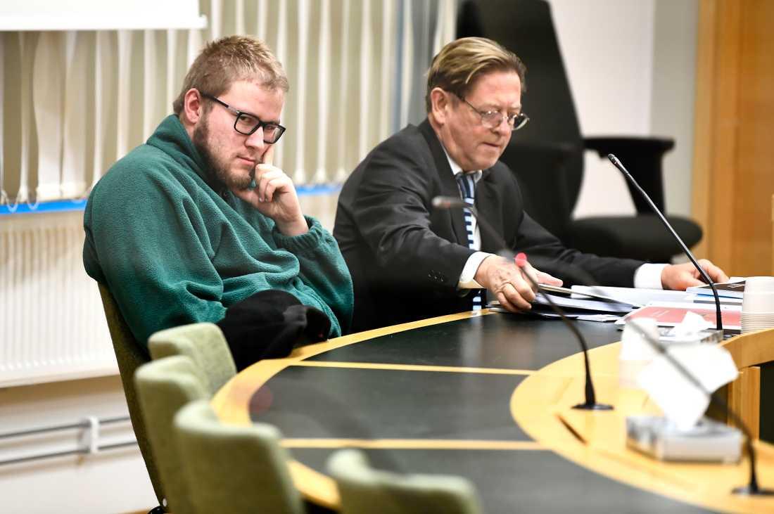 Jonas Fallqvist, 28, döms för mordet på Nella i Fagersta