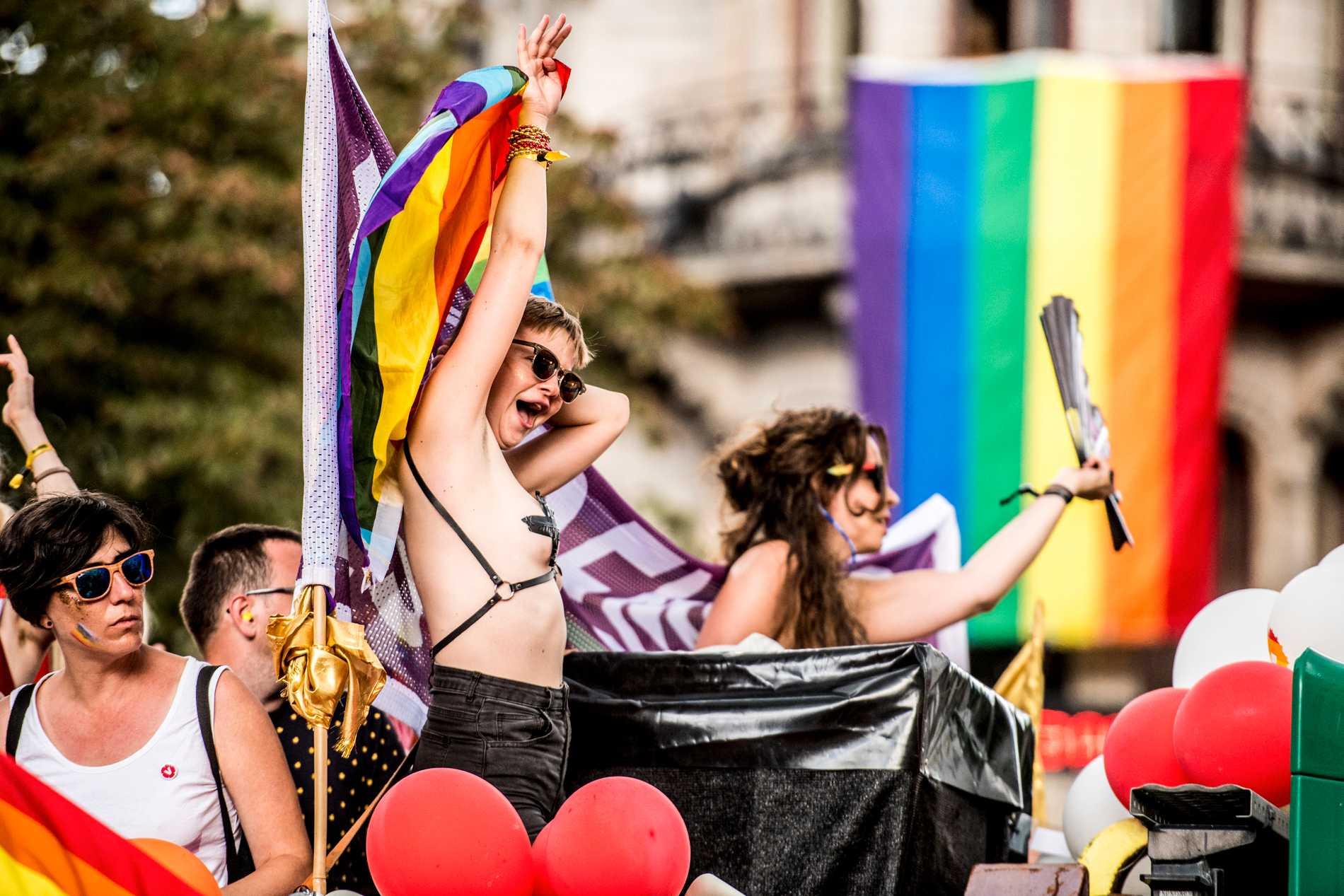 Stockholm Pride 2018.