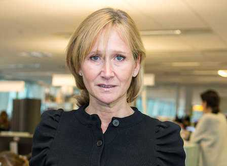 Karin Nelsson, opinionschef på Inizio.
