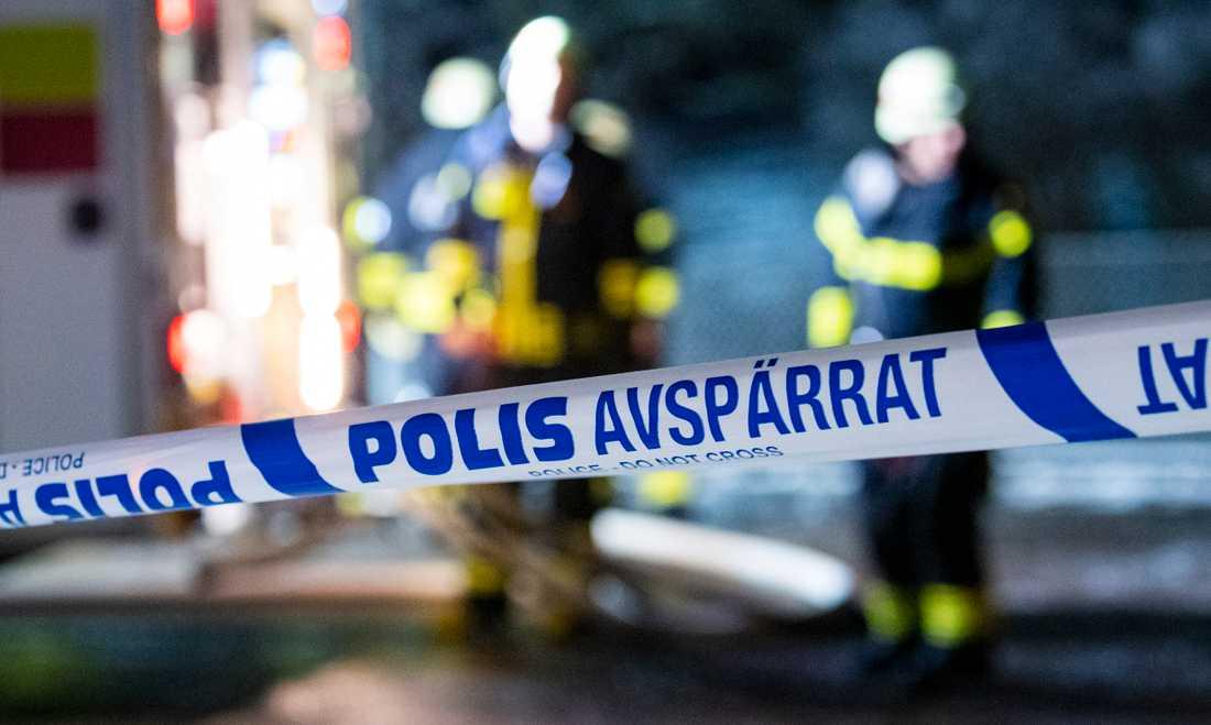 Ett tidningsbud larmade om branden i Nybro. Arkivbild.