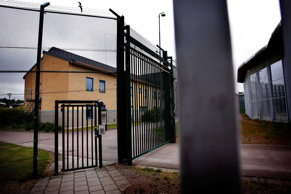 """Här på Skogome kriminalvårdsanstalt avtjänade """"Hagamannen"""", 33-årige Niklas Lindgren, en tid av sitt straff. Specialavdelningen som kallas """"Kliniken"""". Här sitter 14 interner. Kliniken bär säkerhetsbeteckningen D."""
