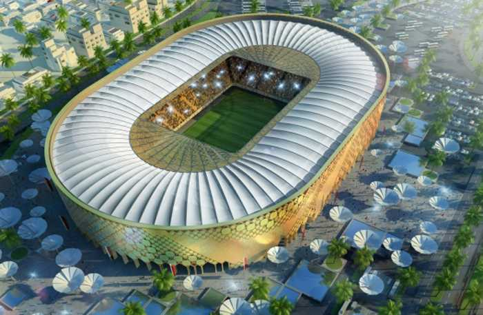 Qatar University Stadium, Doha. Kapacitet: 43 520