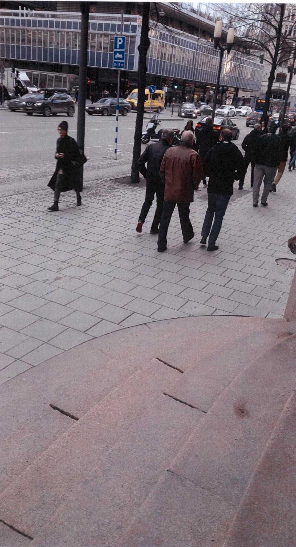 Akilovs bilder från Vasagatan, centrala Stockholm.