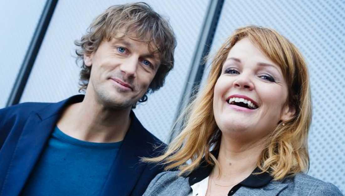 Olle Palmlöf och Belinda Olsson – gladast i stockholmare. Dyrt, dåligt för miljön och förminskande för Göteborg och övriga Sverige, anser Virtanen.