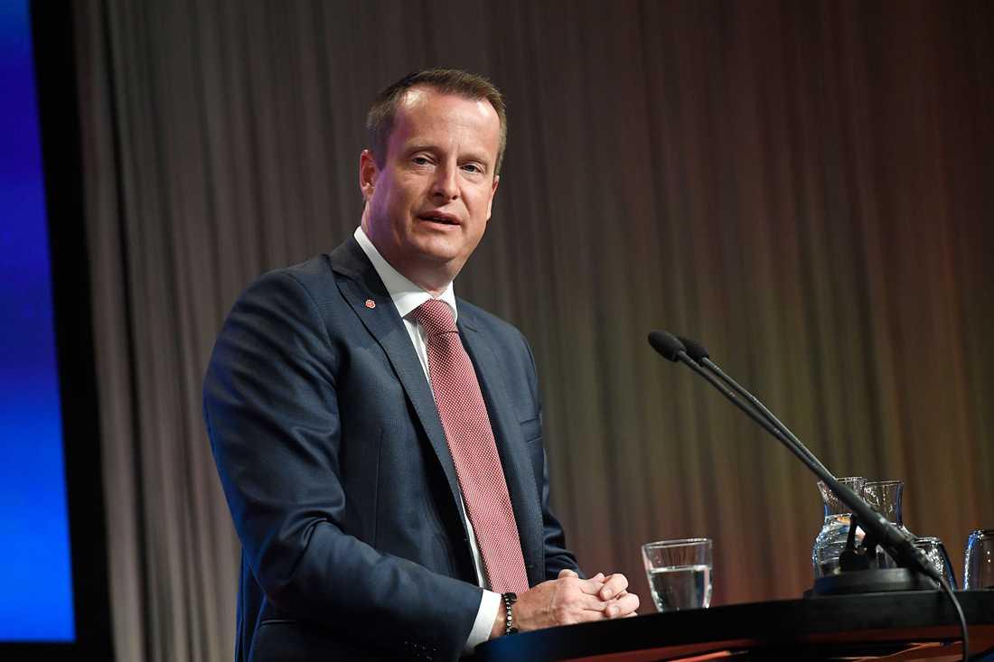 Inrikesminister Anders Ygeman på Folk och försvar i Sälen