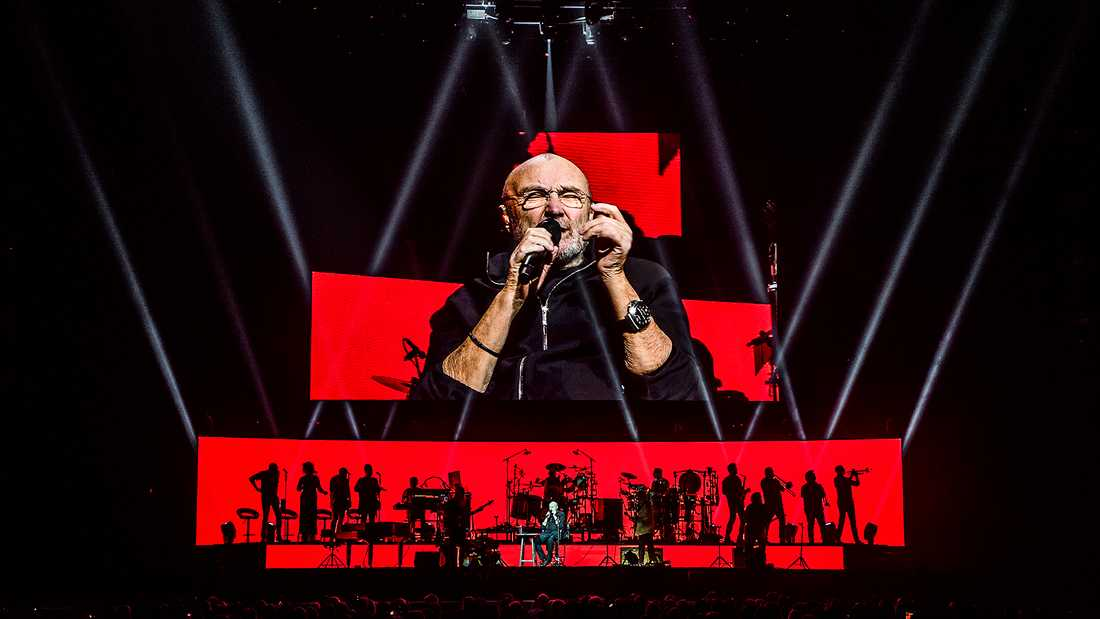 Phil Collins i Friends arena.