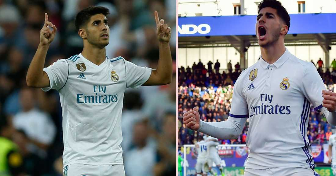 Marcos Asensio missar Real Madrids Champions League-match