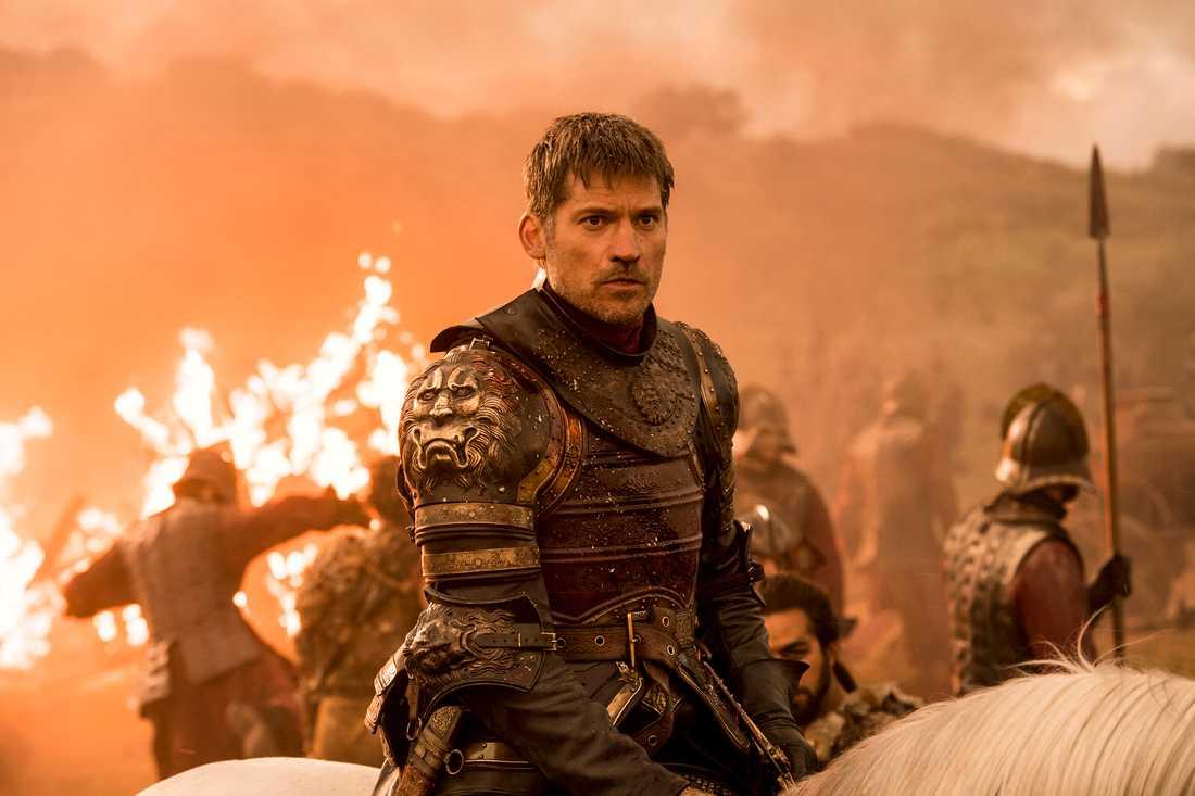 """Nikolaj Coster Waldaus rollfigur Jamie Lannister har utvecklats en hel del genom """"Game of thrones"""". Numera är han en av de mest populära figurerna i serien. Pressbild."""