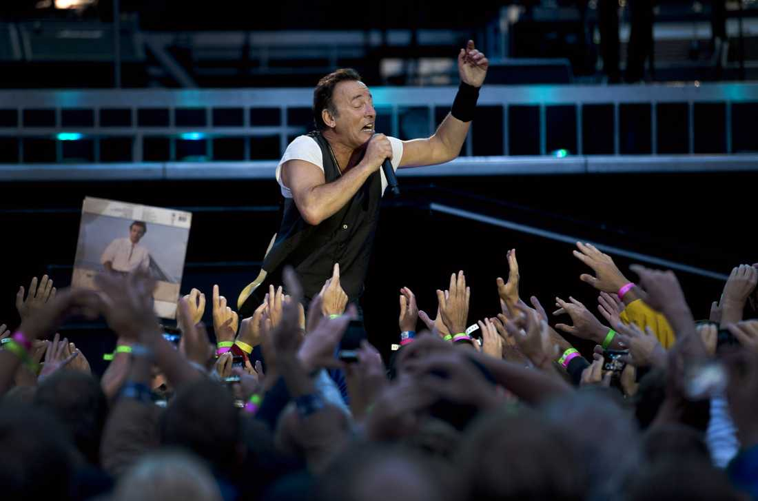 Bruce Springsteen på Ullevi 2012.